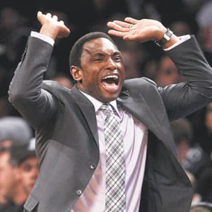 Former Brooklyn Nets head coach Avery Johnson is shown in December 2012.