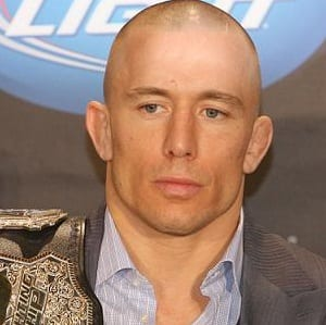Georges St-Pierre, Leave of Absence, Belt
