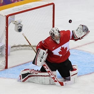 Team Canada Carey Price Finland Olympics