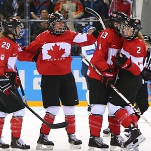 Team Canada, Canadian Women's National Hockey Team