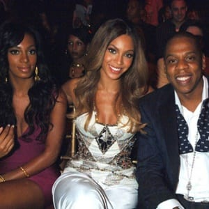 jay-z beyonce and solange