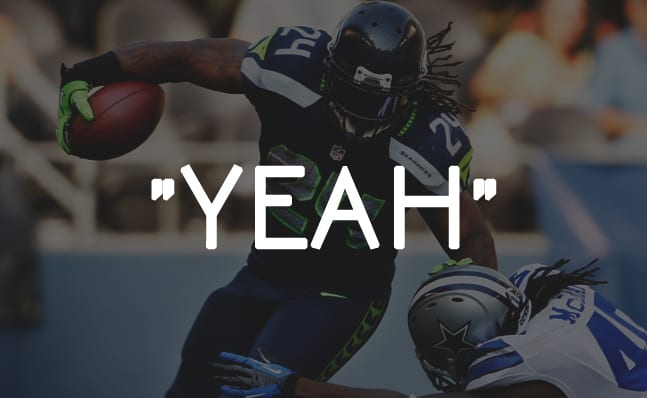 Marshawn lynch s guide to speaking to the nfl media sports