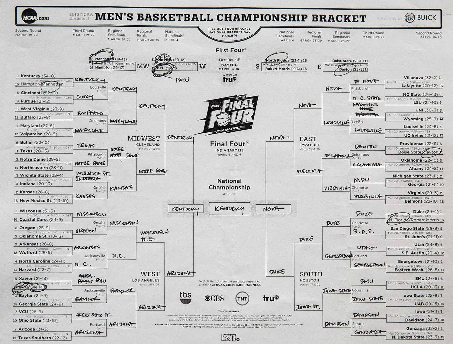 Obama's 2015 March Madness Picks Are In | Sports Interaction Blog