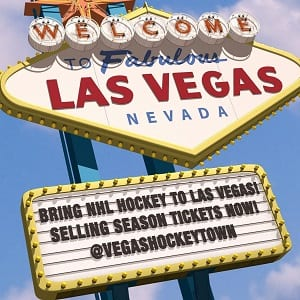 vegas hockey nhl