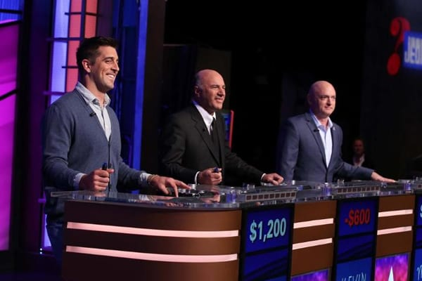 Aaron Rodgers Won $50,000 on 'Celebrity Jeopardy'