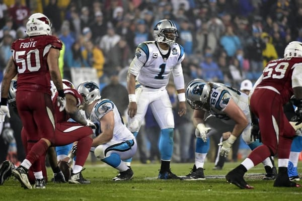 ncaa football championship point spread carolina panthers 2015 score