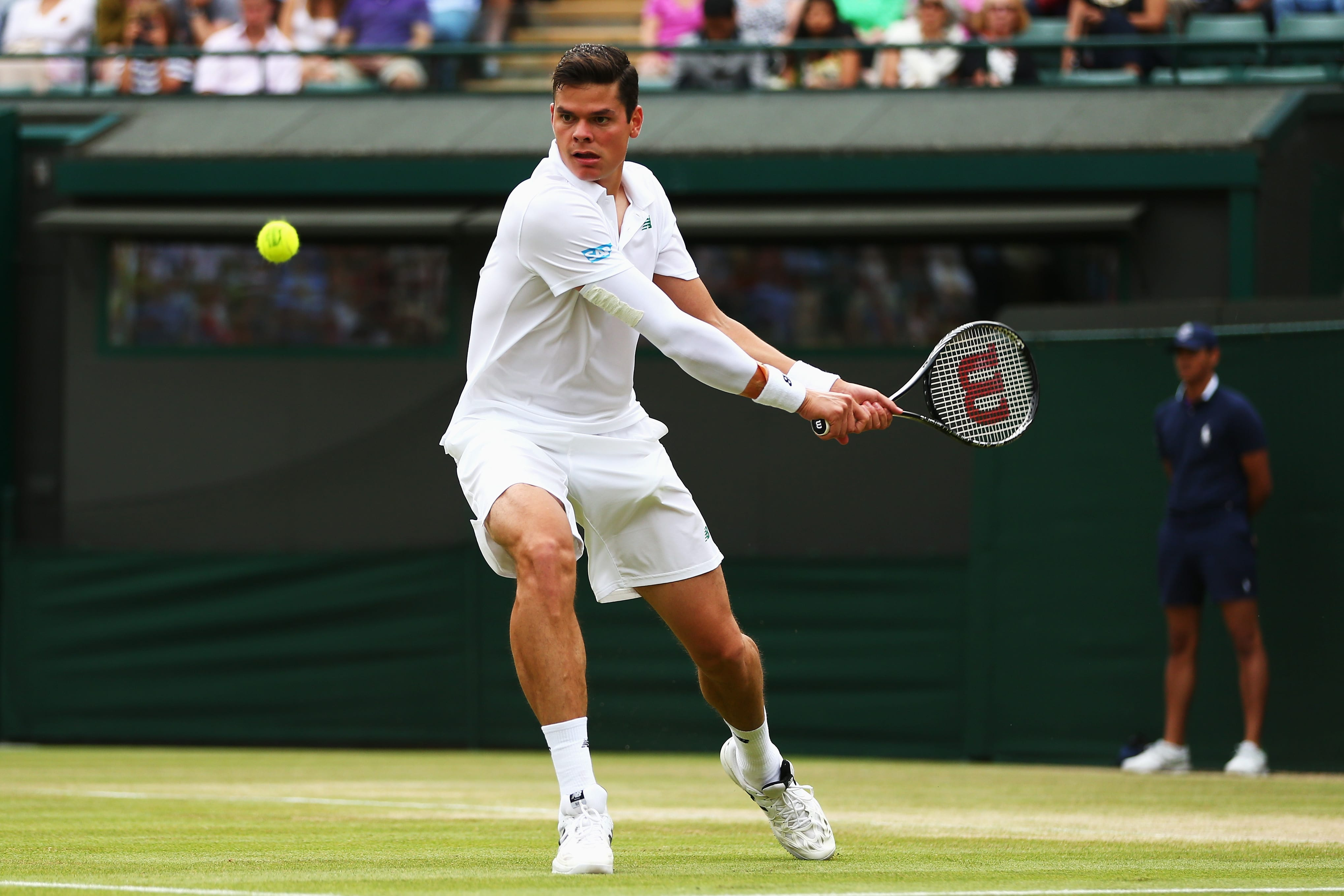 Odds against Canadian Milos Raonic in Wimbledon Final | Sports Interaction